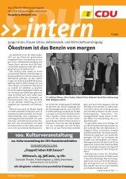 Ausgabe Mai/Juni 2012 - CDU Kreisverbands Mannheim