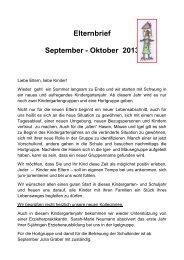 Elternbrief September - Oktober 2013 - St.Rupert Kindergarten ...