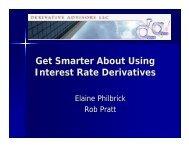 derivative advisors
