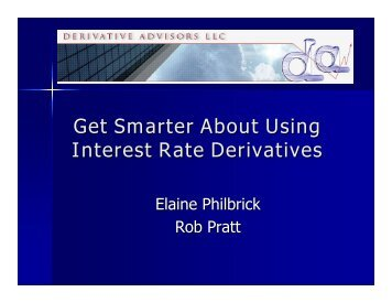 derivative advisors