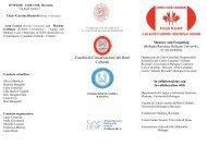 Facoltà di Conservazione dei Beni Culturali - Master di II livello in ...