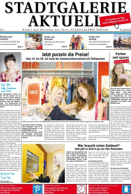 50% - Stadtgalerie Passau