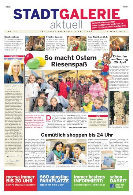 So macht Ostern Riesenspaß - Stadtgalerie, Heilbronn