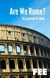 Are We Rome? - Foundation for Economic Education