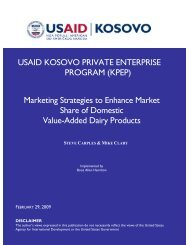 Marketing Strategies for Dairy Products - KPEP