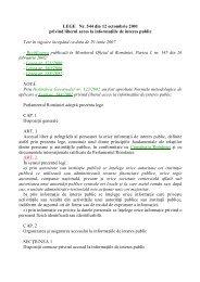 Legea nr. 544/2001
