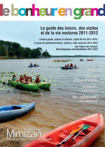 Le guide des loisirs, des visites et de la vie ... - Mimizan-tourisme.com