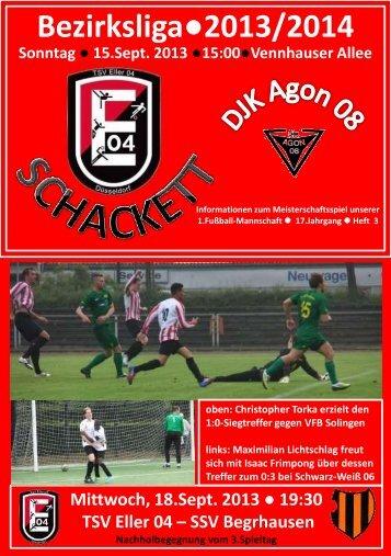 DJK Agon 08 - TSV Eller 04