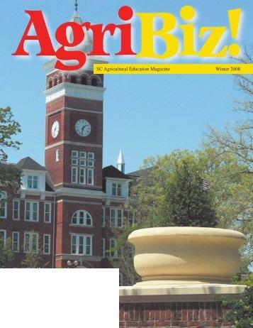 Jan., Feb., Mar. - South Carolina Agricultural Education
