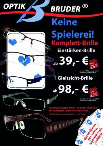 Komplett-Brille - Optik Bruder
