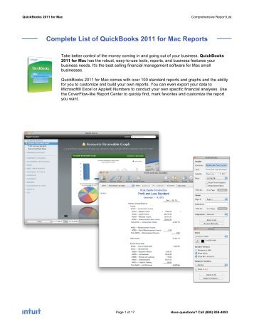 QuickBooks Conversion Tool Version 5.2 Whitepaper - Intuit