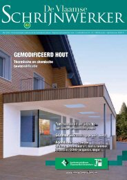 Vlaamse Schrijnwerker_mei_2010.pdf - Magazines Construction
