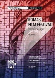 ROMA3 FILM FESTIVAL - Corso di Design a Roma