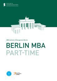 Berlin MBA Part-time - WiWi-Online