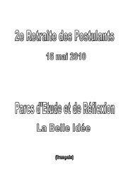 Texte - Parc La Belle Idée