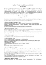 Les différentes groupes de travail et leurs missions (PDF)