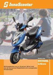 EM2500L Lithium - InnoScooter