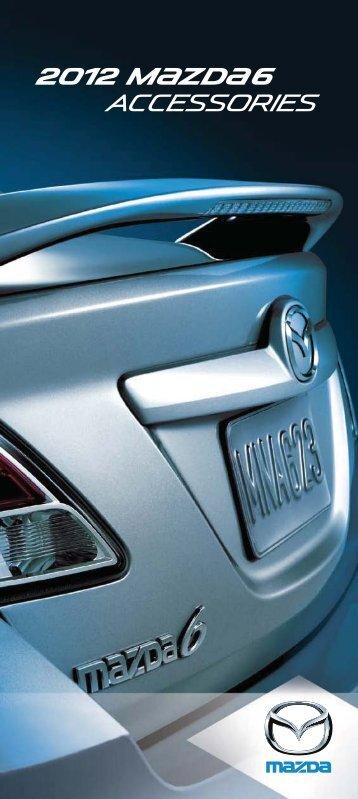 accessories 2012 M{zd{6 - Crown Mazda