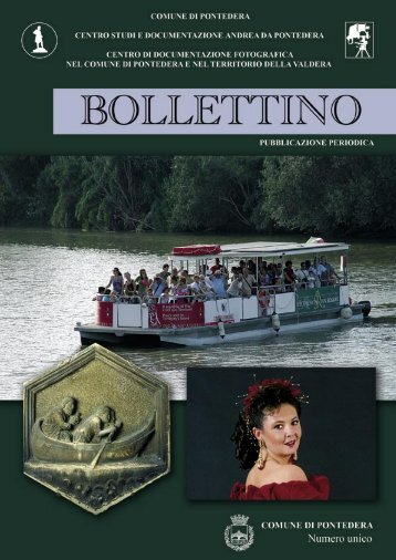 Bollettino 2009 - Comune di Pontedera