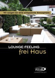 Flyer Download (PDF) - proair - loungeconcept