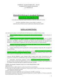 Durante il periodo all'estero [pdf] - Accademia Ligustica di Belle Arti