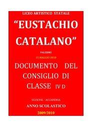 3 - Liceo Artistico Statale Catalano