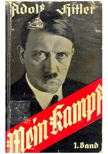 Mein Kampf - Adolph Hitler - Thelowestroom.com