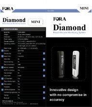 FORA Diamond Mini - ForaCare Suisse AG