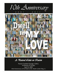 Dwell In My Love - Archdiocese of Chicago