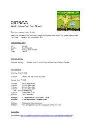 OSTRAVA - WORLD INLINE CUP