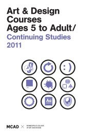 Summer 2011 Continuing Studies course catalog - Minneapolis ...