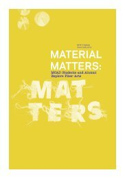 Material Matters Catalog (PDF) - Minneapolis College of Art and ...
