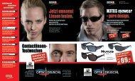 € NOTOS eyewear - pure  design. Jetzt umsonst ... - Optik Deuschl