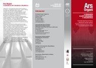ArsOrgani_II_Seminar.. - Dipartimento dei Beni Culturali - Università ...