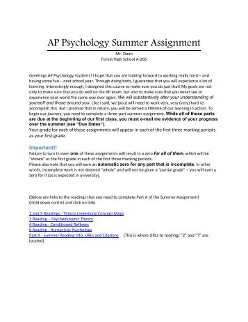 ap history assignment 2 Ap world history summer assignment 2016-2017 welcome to ap world history your summer assignment has three parts: 1) world regions map 2) comparative writing samples.