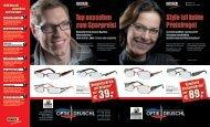 Style ist keine Preisfrage! € Top aussehen  zum ... - Optik Deuschl