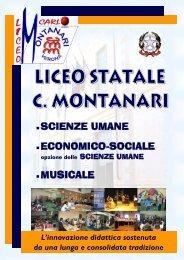 Libretto completo dell'offerta formativa del Liceo Montanari