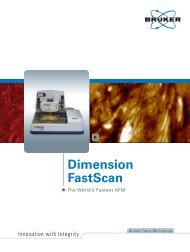 Dimension FastScan Atomic Force Microscope - The World's Fastest ...