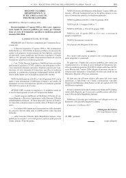 REGIONE CALABRIA DIPARTIMENTO N. 13 TUTELA DELLA ...