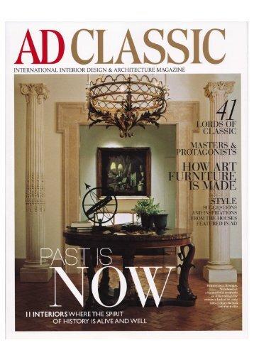 international interior design & architecture magazine - Dario del Bufalo