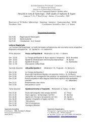 Attualità in tema di Epatologia - Dall'epatite al trapianto di fegato