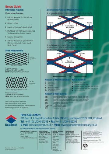 Expanded metal mesh riffles - World Placer Journal
