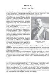 Capitolo VI - La Guerra italo-turca - Le Gallerie di Modellismo Più