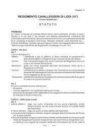 Statuto Circolo Sottufficiali - Le Gallerie di Modellismo Più