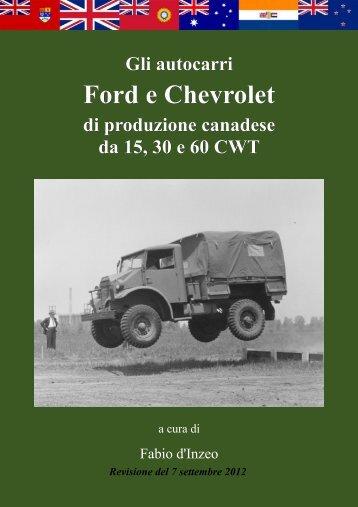 Ford e Chevrolet - Le Gallerie di Modellismo Più