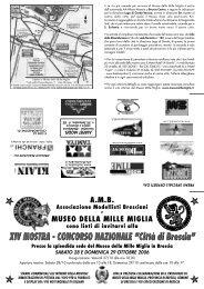 """XIV MOSTRA - CONCORSO NAZIONALE """"Città di Brescia"""""""