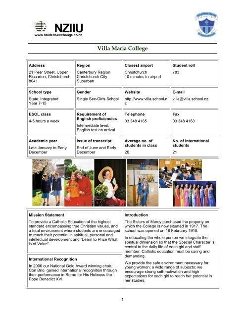 Adult Guide Villa Maria