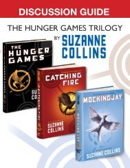 Hunger Games Discussion Guide - Scholastic Media Room