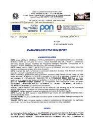 Download Graduatoria definitiva esperti PON - Liceo Statale Cagnazzi