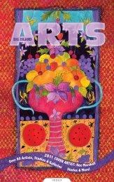 Roz Marshall Cover Art - Big Island Arts Annual